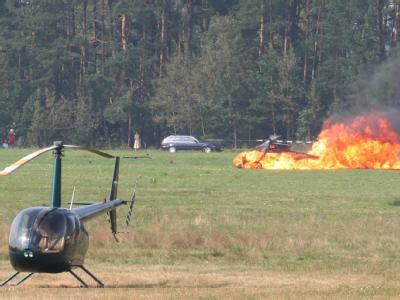 Deutscher Pilot stirbt bei Hubschrauber-Meisterschaft