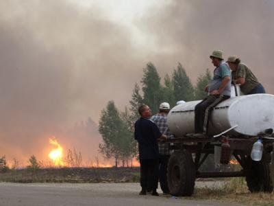 Brände in Russland