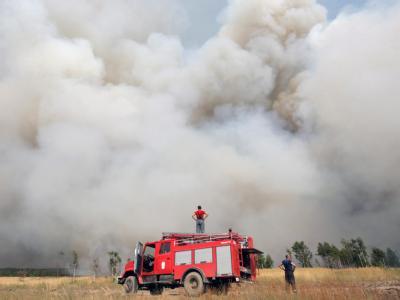 Waldbr�nde in Russland