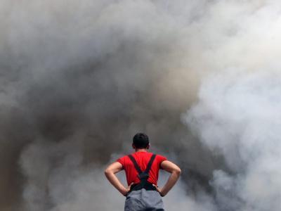 Auch radioaktiv verseuchte Gebiete sind von den Bränden in Russland betroffen.