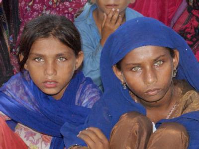 Flutopfer in Pakistan