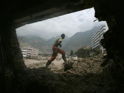 Erdrutsch in China