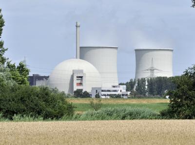 Das von dem Stromkonzern RWE betriebene Atomkraftwerk (AKW) Biblis in Südhessen.