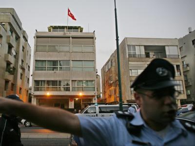 Schüsse in türkischer Botschaft