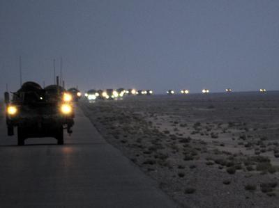 Letzte US-Kampftruppen verlassen Irak