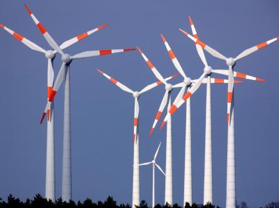 Die Studie taxiert Wertschöpfung allein durch Windkraft auf 2,1 Milliarden Euro.