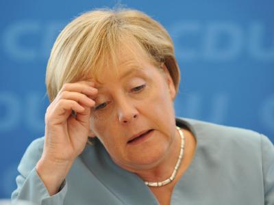 CDU - Bundesvorstandssitzung -  Merkel