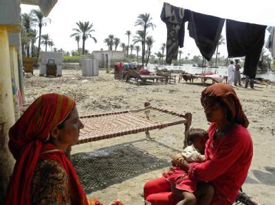 Flutkatastrophe in Pakistan