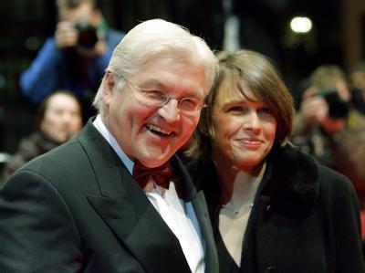 Frank-Walter Steinmeier und seine Frau Elke Büdenbender. (Archivbild)