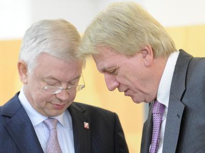 Roland Koch und Volker Bouffier
