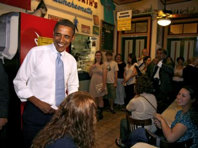 Obama in New Orleans