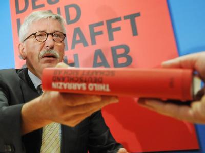 Thilo Sarrazin bei der Vorstellung seines Buches