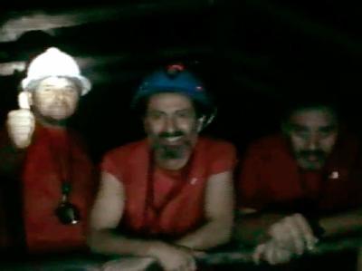 Versch�ttete Bergleute in Chile