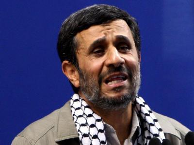 Irans Präsident Mahmud Ahmadinedschad (Archivbild)