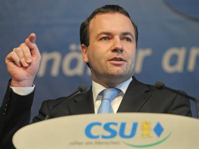 Der Europaabgeordnete Manfred Weber (Archivbild).
