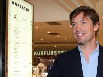 Nicolas Bergguen, Investor für den insolventen Warenhauskonzern Karstadt, in der Karstadt-Filiale am Kurfürstendamm in Berlin.