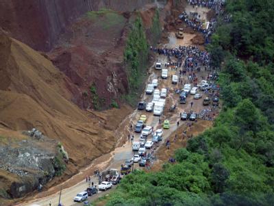 Erdrutsch in Guatemala
