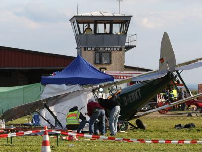 Unfall bei Flugschau