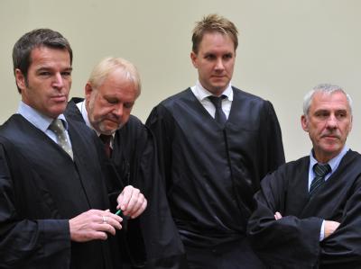 Urteilsverk�ndung im Brunner-Prozess