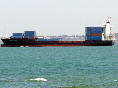 Das Containerschiff «Magellan Star» der deutschen Reederei Dr. Peters (Archivbild).