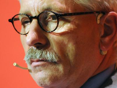 Der scheidende Vorstand der Bundesbank, Thilo Sarrazin. Nun soll er auch sein SPD-Parteibuch abgeben.