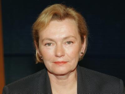 Die frühere DDR-Bürgerrechtlerin Bärbel Bohley (Archivfoto vom 02.04.2000).