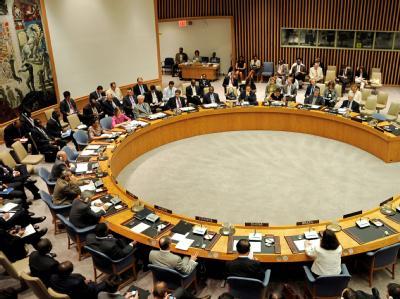 Der Welt-Sicherheitsrat in New York (Archivbild)