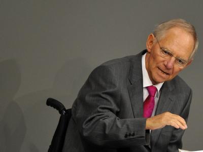 Bundesfinanzminister Schäuble (CDU): «Wir sind auf einem guten wirtschaftlichen Weg.»
