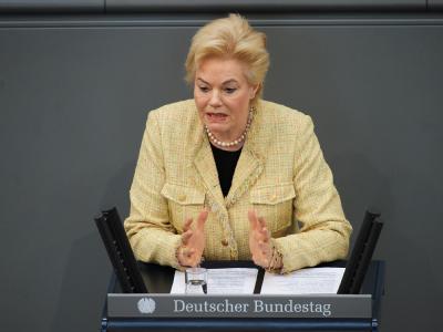 Vertriebenen-Präsidentin Erika Steinbach wurde in Polen als «blonde Bestie» verunglimpft.