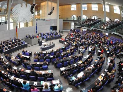 Der erste Sparhaushalt der schwarz-gelben Koalition ist Thema im Bundestag. (Archivbild)