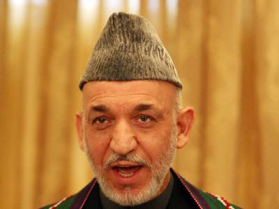 Präsident Hamid Karsai