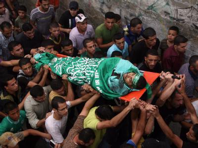 Beerdigung eines Hamas-Führers