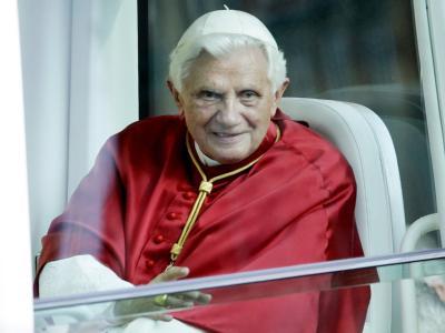 Derzeit auf Staatsbesuch in Großbritannien: Papst Benedikt XVI.
