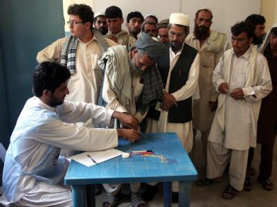 Parlamentswahlen Afghanistan
