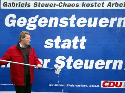 CDU-Wahlkampagne