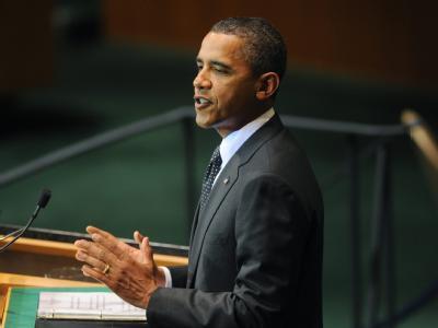 US-Präsident Barack Obama rief die arabische Welt auf, die Bemühungen der Palästinenser zu unterstützen.