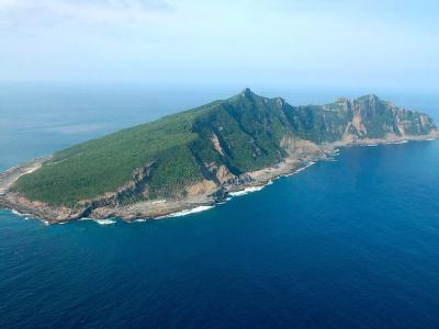 Japanisch-chinesisches Streitobjekt: Eine der Senkaku-Inseln nordöstlich von Taiwan.