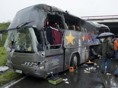 Der tragische Unfall ereignete sich unweit der brandenburgischen Ortschaft Rangsdorf unter einer Brücke.