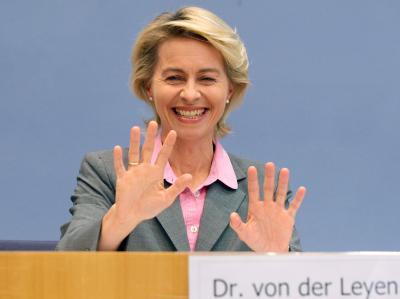 Bundesarbeitsministerin Ursula von der Leyen (CDU) nimmt Stellung zur neuen Hartz-IV-Regelung.