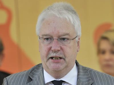 Der hessische Integrationsminister Jörg-Uwe Hahn.
