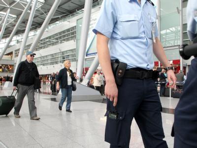 Sicherheit am Flughafen