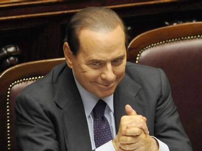 Berlusconi im Parlament