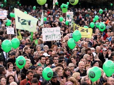 Demonstration gegen Stuttgart 21