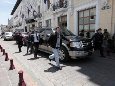 Staatskrise in Ecuador
