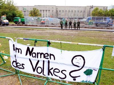 Protest in Stuttgart