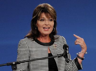 Sarah Palin: «Wenn es keinen anderen gibt, der es tut, dann denke ich, dass wir es tun sollten.» (Archivbild)