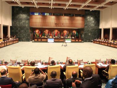 Die Außenminister der Arabischen Liga kamen im libyschen Sirte zusammen.