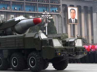Milit�rparade in Nordkorea