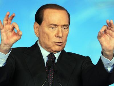 Italiens Ministerpräsident Silvio Berlusconi (Archivbild)