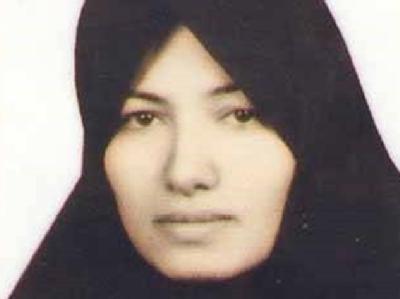 Das undatierte Foto zeigt die vom Tod durch Steinigung bedrohte Iranerin Sakineh Mohammadi-Aschtiani.